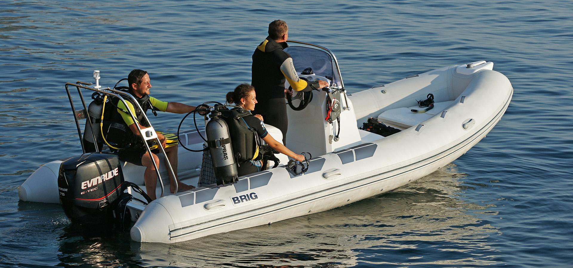 Lifestyle Scuba diving Crimea Brig Evinrude RIB Rigid inflatable