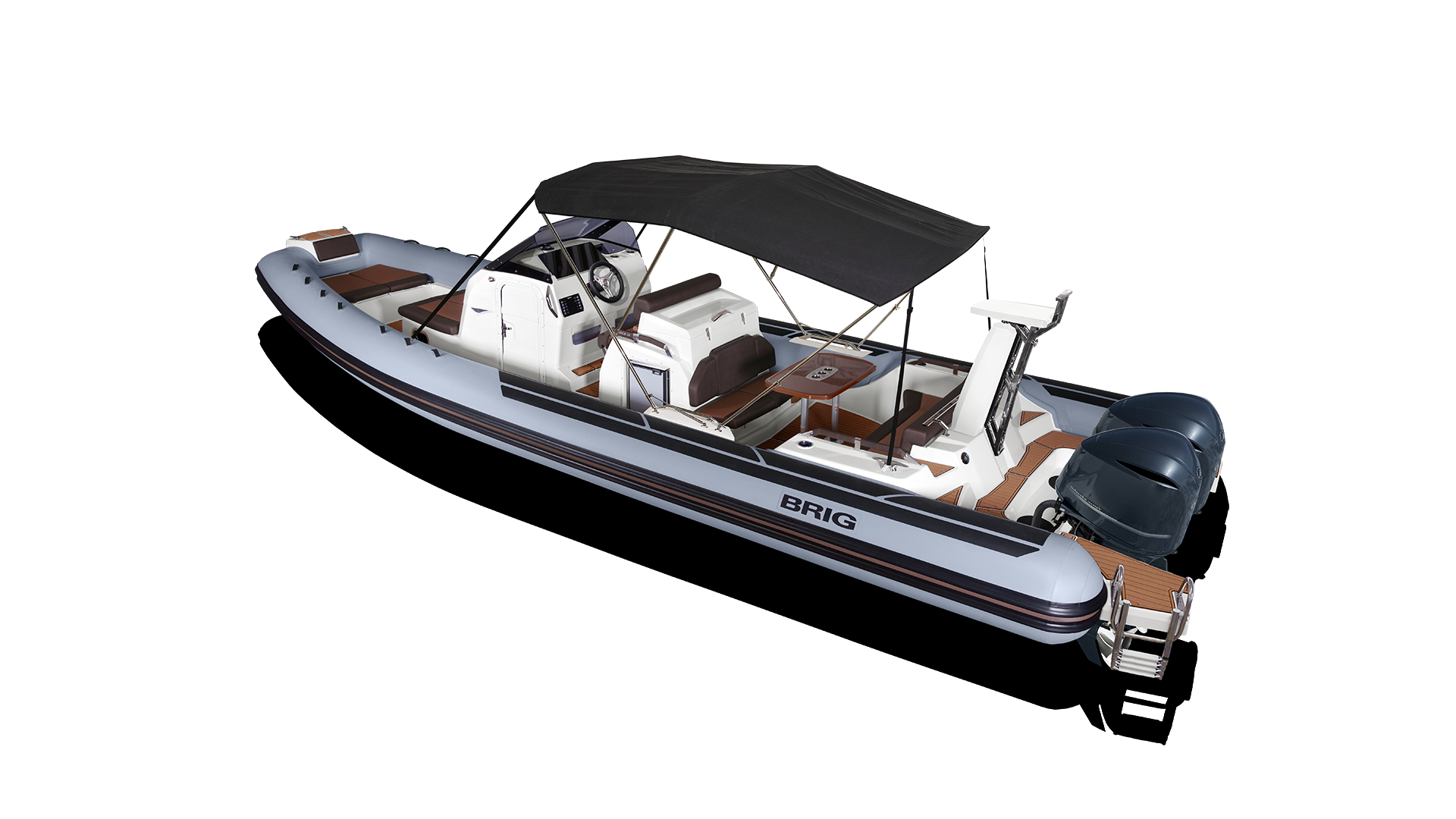 Stainless Steel BOAT LADDER Speedboat Rib Inflatable Swim Bathing Tube Folding